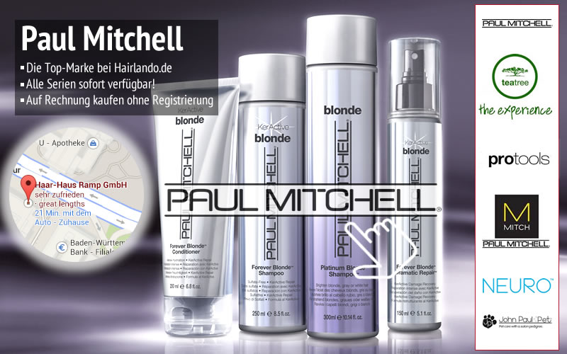 Paul Mitchell Shop - Günstig kaufen & auf Rechnung