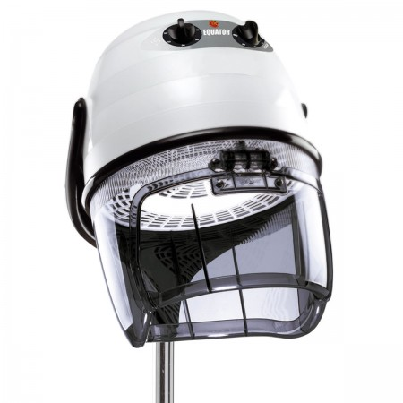 Friseur Trockenhaube Equator 3000 - mit Stativ in weiß