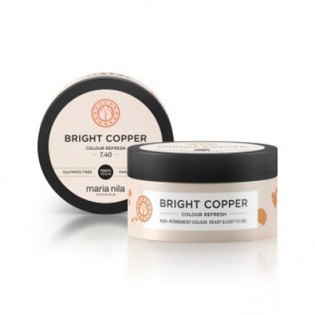 Maria Nila Colour Refresh: Bright Copper 7.40 100ml