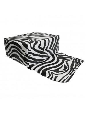 Hairforce Friseur-Kindersitzkissen Zebra in schwarz-weiß
