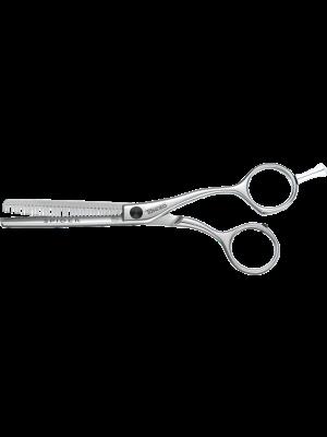 Tondeo Friseurschere - SPIDER SHINE SET LEFT CLASSIC 5.5 Set - silver Werkzeugtasche
