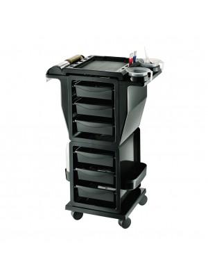 HNC Friseur Arbeitswagen - Modus Color in schwarz