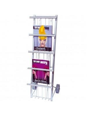 HNC Friseur-Zeitschriftenständer auf Rollen