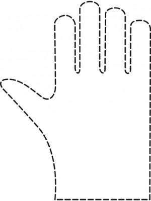 Comair - Damen Einweg-Handschuhe gehämmert 100 Stück