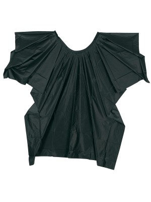 Comair Friseur Umhang Plastique – in schwarz