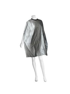 Comair Friseur Umhang Plastique – in silber