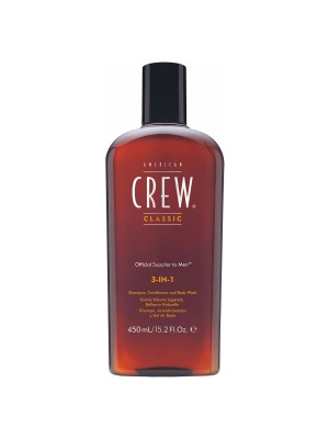 American Crew – Classic 3in1 - Shampoo, Conditioner und Body Wash 450ml
