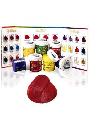 Directions - Farbcreme zum Tönen der Haare in vermillion red