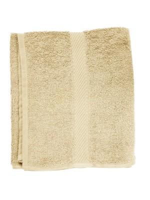 Friseur Frottee-tuch in beige 50x90 cm