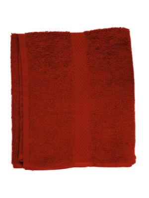 Friseur Frottee-tuch in rot 50x90 cm