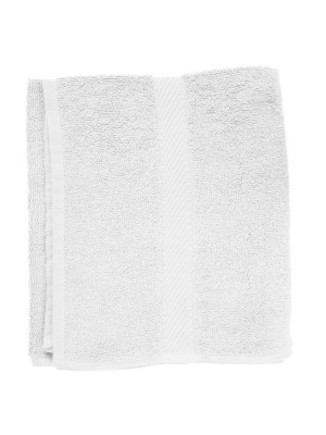 Friseur Frottee-tuch in weiß 30x90 cm