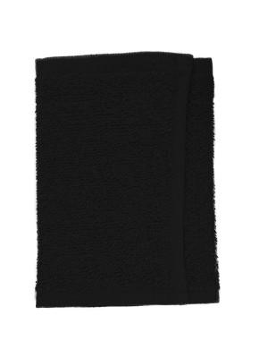 Friseur Gesichtstuch in schwarz 30x15 cm