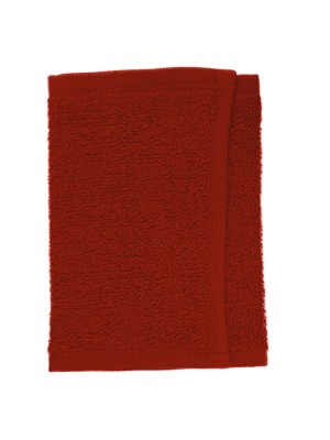 Friseur Gesichtstuch in rot 30x15 cm