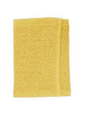 Friseur Gesichtstuch in gelb 30x15 cm