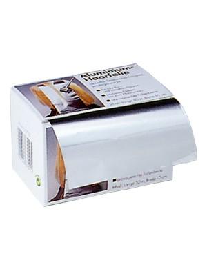Friseur Alufolie in Abreißbox in silber – 20my