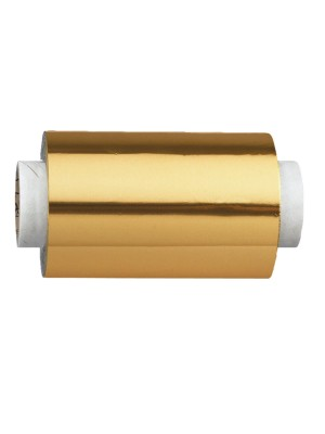 Fripac-Medis Aluminium-Haarfolie in gold – 16my