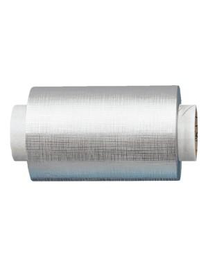 Fripac-Medis Aluminium-Haarfolie geprägt in silber – 15my