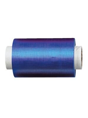 Fripac-Medis Aluminium-Haarfolie gepräg in blau – 15my