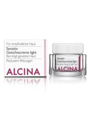 Alcina Sensitiv Gesichtscreme light - 50 ml