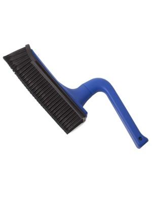 V7 Friseur-Handbesen in Blau
