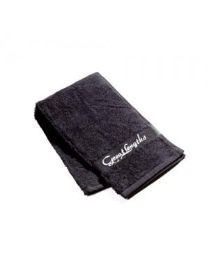 Great Lenghts Mini-Handtuch -schwarz- 93 cm x 30 cm