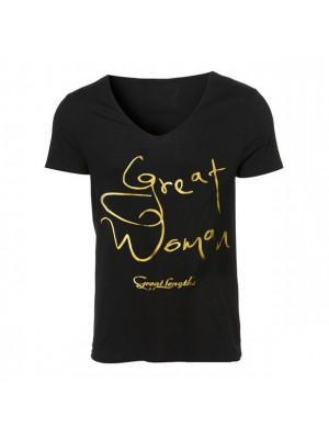 Great Lenghts Great Woman T-Shirt Größe M