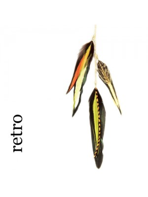 Great Lenghts Feather Charms Retro