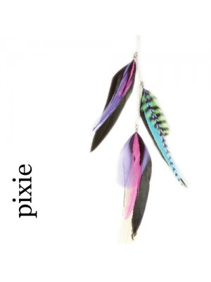 Great Lenghts Feather Charms Pixie