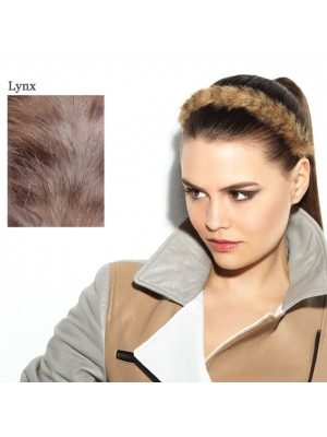 Great Lenghts POP FAUX FUR Haarband Lynx