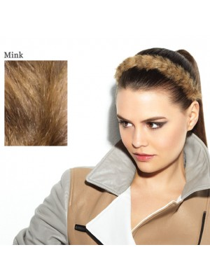 Great Lenghts POP FAUX FUR Haarband Mink