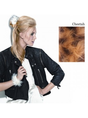 Great Lenghts POP FAUX FUR Haarspange Cheetah