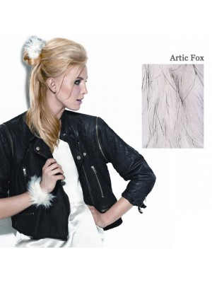 Great Lenghts POP FAUX FUR Haarspange Arctic Fox