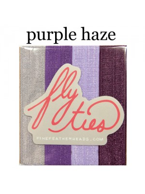 Great Lenghts Fly Ties Haarbänder Purple Haze