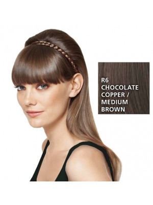 Great Lenghts HAIRDO French Braid Band Chocolate/Medium Brown