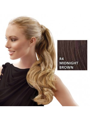"Great Lenghts HAIRDO 23"" Wrap Around Zopf Midnight Brown"