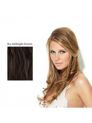 Great Lenghts POP Clip-In Long Zöpfchen R4 Midnight Brown