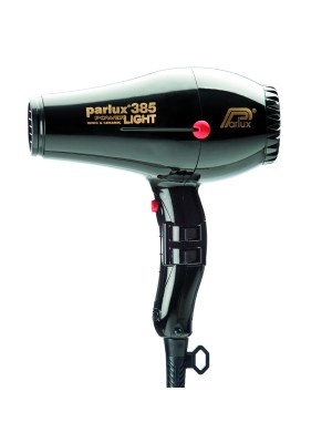 Parlux Friseur-Haartrockner 385 Power Light in schwarz