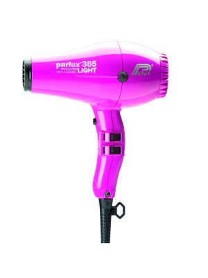 Parlux Friseur-Haartrockner 385 Power Light in fuchsia