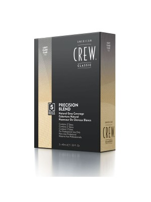 American Crew – Haartönung – Precision Blend Light 3X40ml