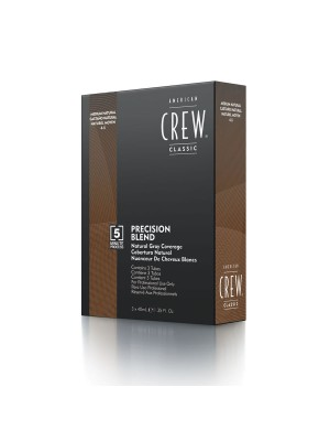 American Crew – Haartönung – Precision Blend Medium Natural 3X40ml