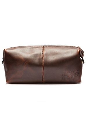 Apothecary87 - Leather Wash Bag