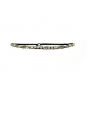 Great Lengths - Tassel - Bond Silver Headband