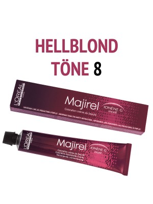 L´Oréal Professionnel - Majirel Haarfarbe Hellblond 8 - 50 ml