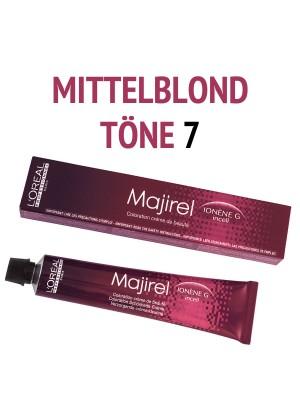 L´Oréal Professionnel - Majirel Haarfarbe Mittelblond 7 - 50 ml