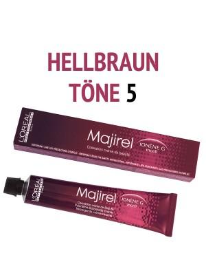 L´Oréal Professionnel - Majirel Haarfarbe Hellbraun 5 - 50 ml