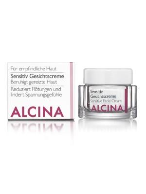 Alcina Sensitiv Gesichtscreme - 50 ml