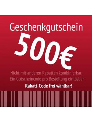 Hairlando.de - Geschenkgutschein 500EUR