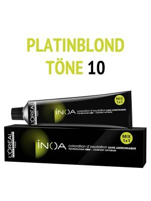 L´Oréal Professionnel - Inoa Haarfarbe platinblond 10 - 60 ml
