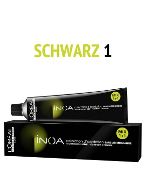 L´Oréal Professionnel - Inoa Haarfarbe 1 - schwarz - 60 ml