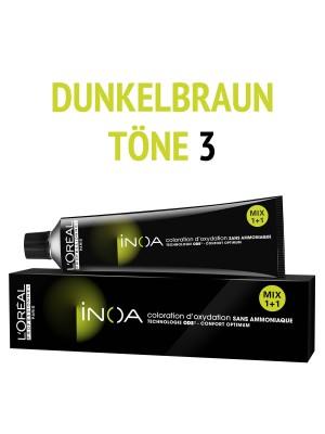 L´Oréal Professionnel - Inoa Haarfarbe dunkelbraun 3 - 60 ml